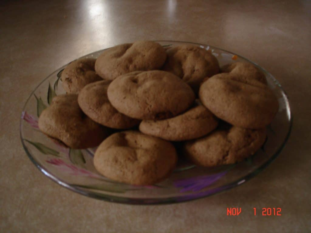 Mom's Molasses Cookies
