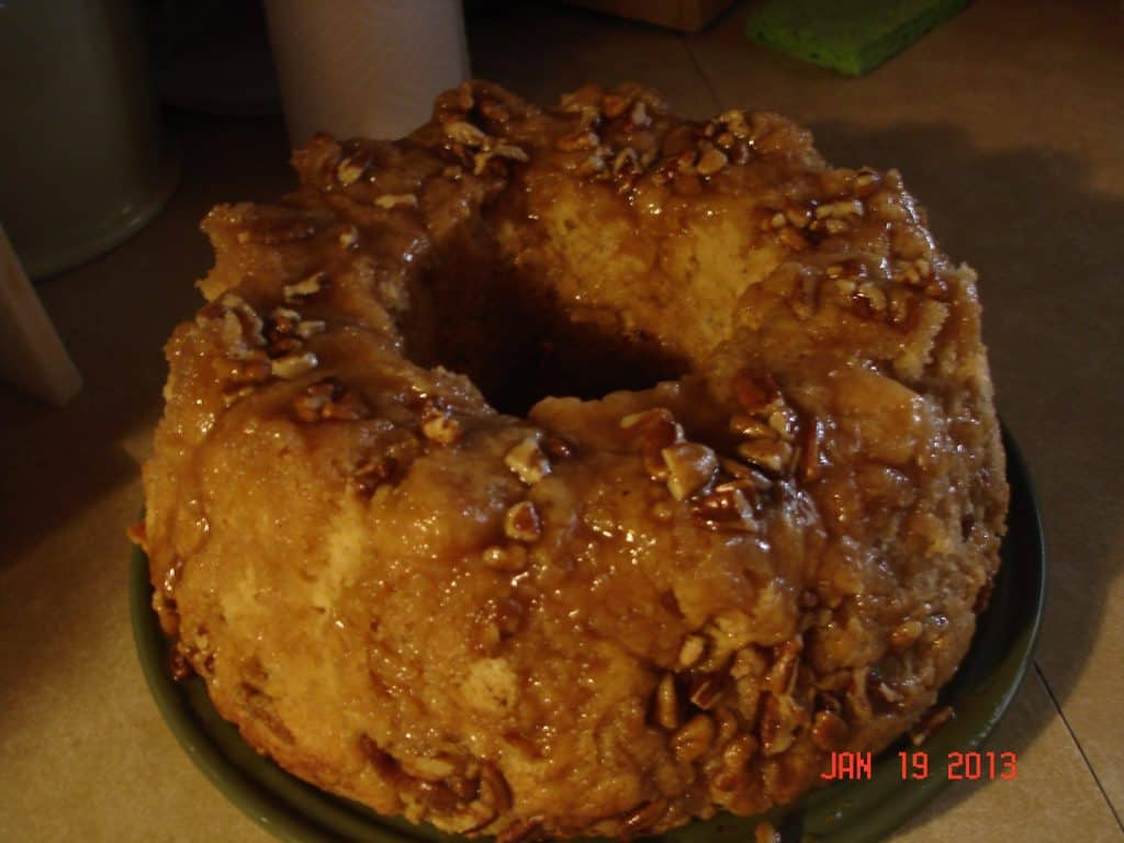 Caramel-Nut Monkey Bread