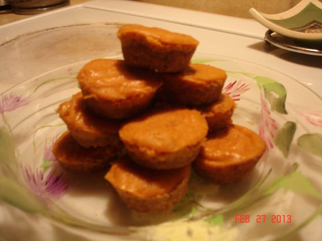 Mini Pumpkin Spice Cheesecakes