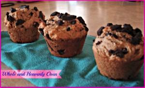 Chocolate Chunk Peanut-Butter Muffins