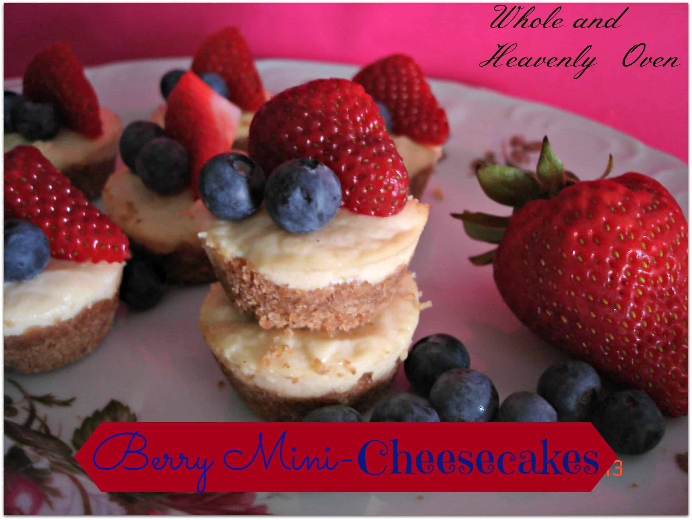 Berry Mini-Cheesecakes
