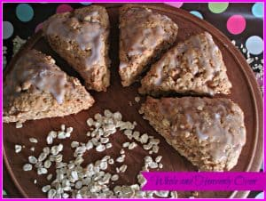 The Best Oatmeal Scones 7