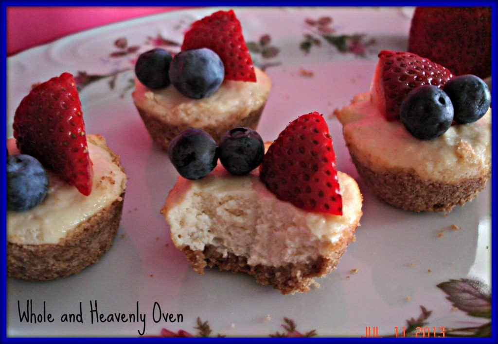 Berry Mini-Cheesecakes