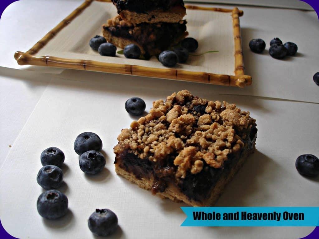 Blueberry Streusel Bars no2