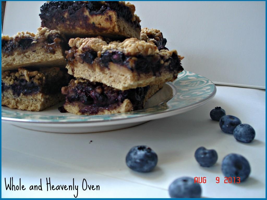 Blueberry Streusel Bars no3