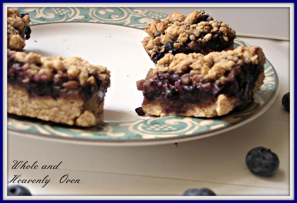 Blueberry Streusel Bars no4