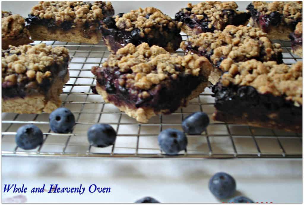 Blueberry Streusel Bars no7