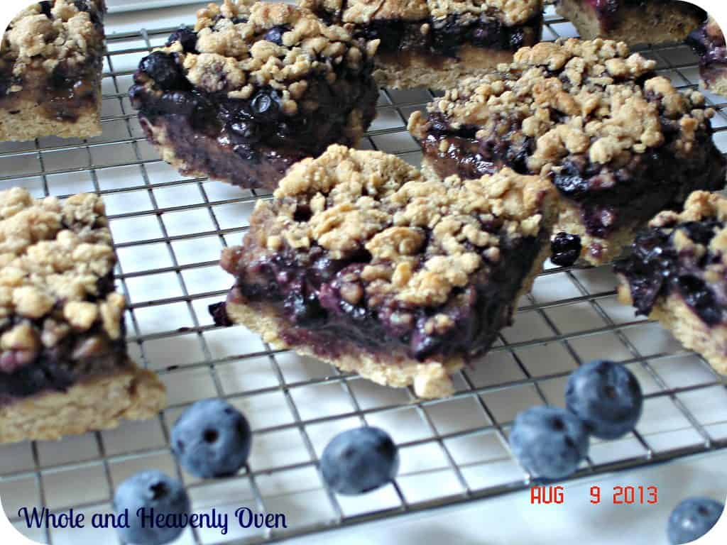 Blueberry Streusel Bars no8