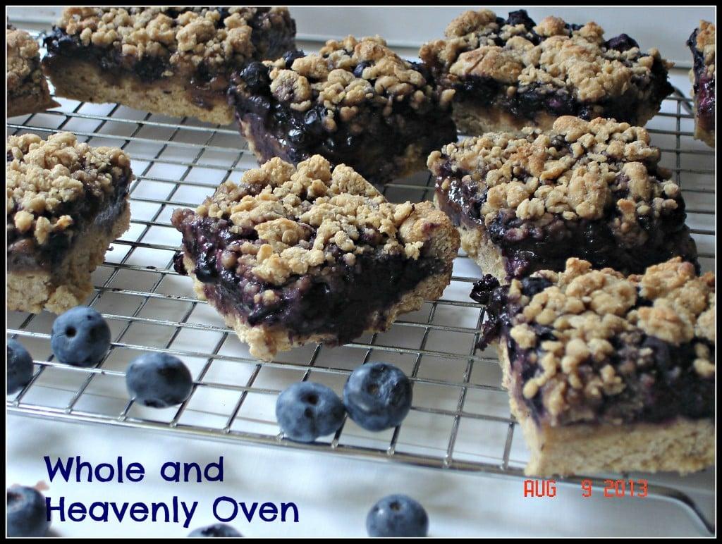 Blueberry Streusel Bars no9