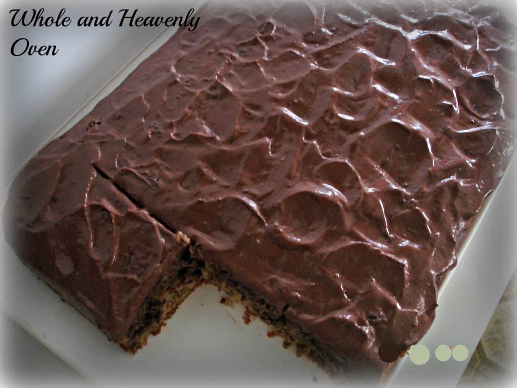 Chocolate Yellow Swirl Cake