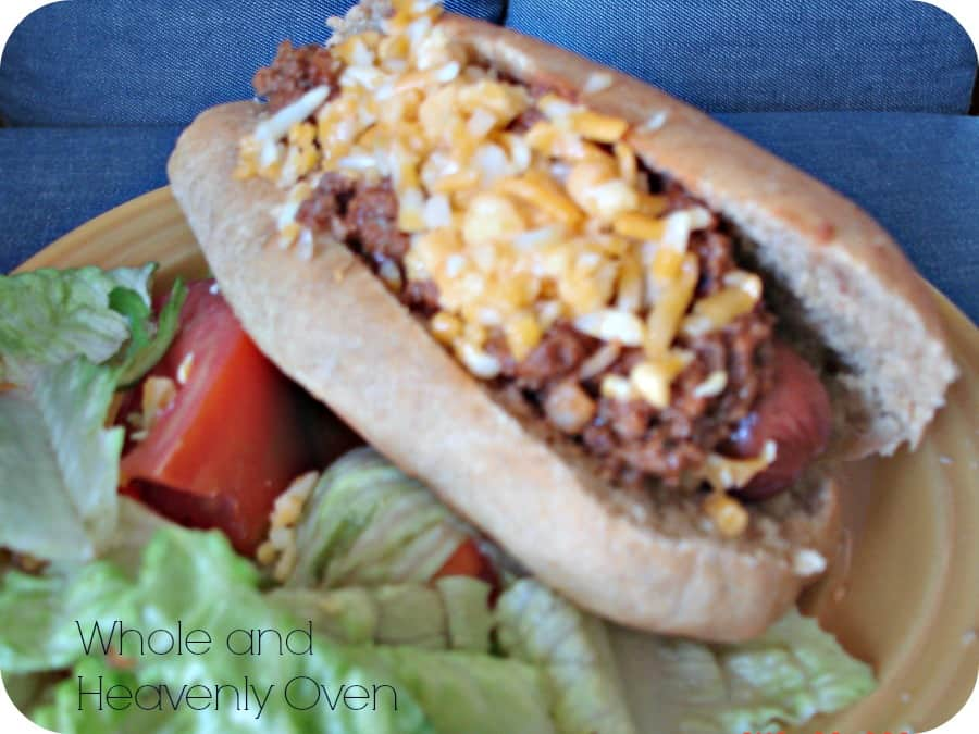 Coney-Sauce Hot Dogs No.7.