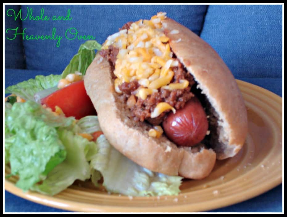 Coney-Sauce Hot Dogs No.9