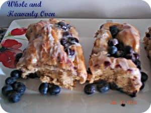 Fluffy Blueberry-Swirl Rolls No.4