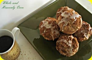 Glazed Snickerdoodle Pecan Muffins No.2