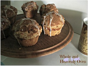 Glazed Snickerdoodle Pecan Muffins No.4