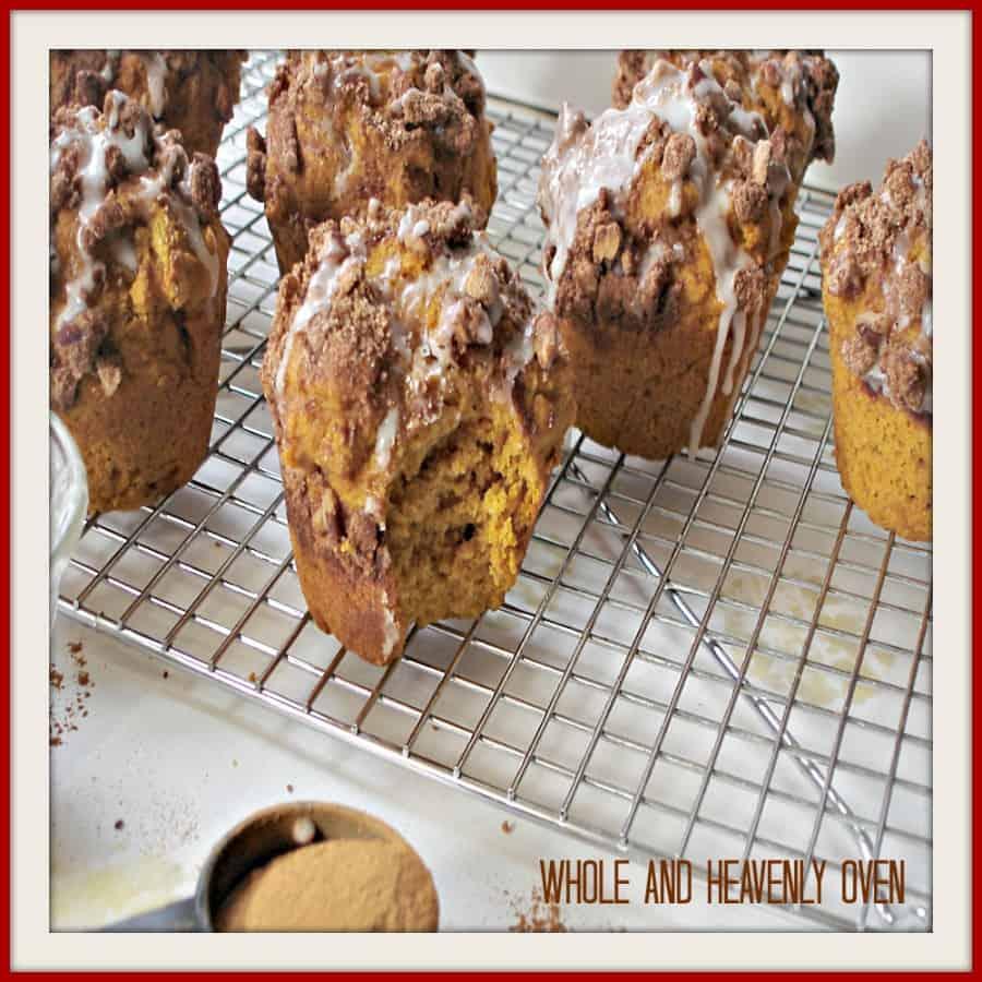 Pumpkin Pecan Streusel Muffins14