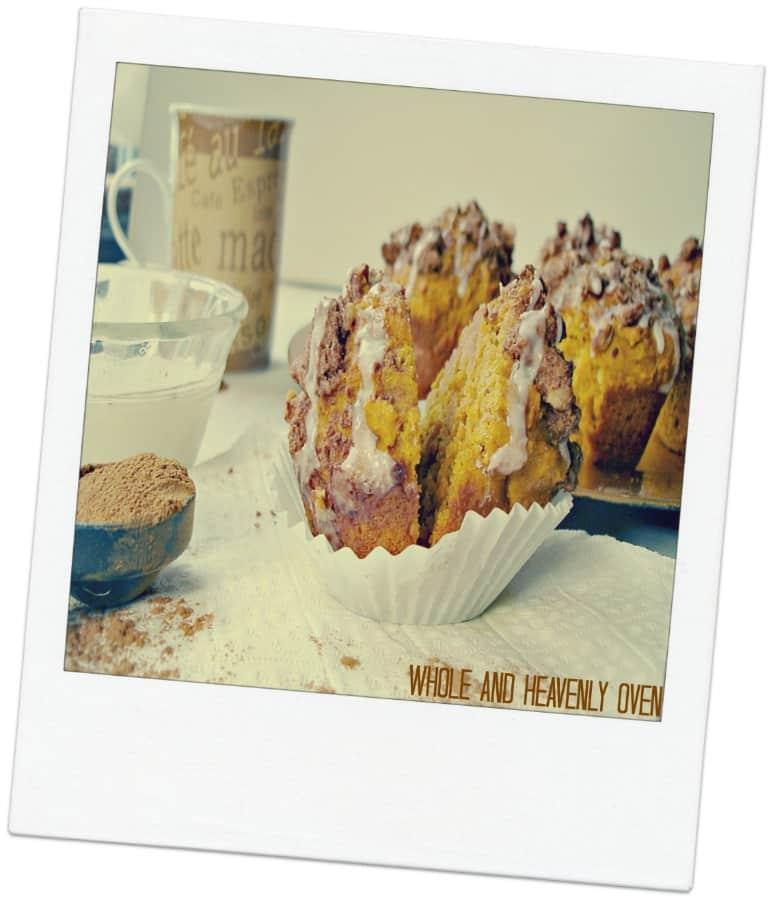 Pumpkin Pecan Streusel Muffins16