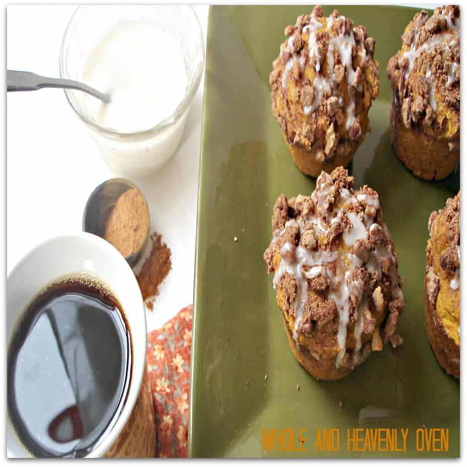 Pumpkin Pecan Streusel Muffins3