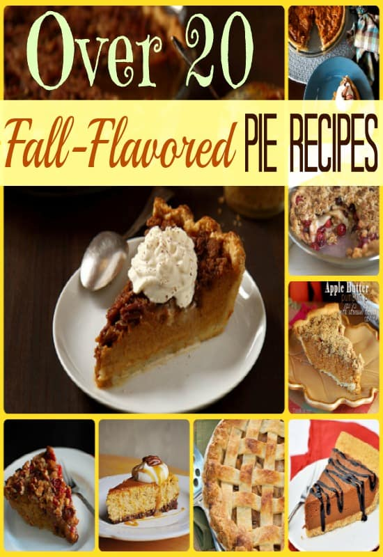 Over 20 Fall-Flavored Pie Recipes