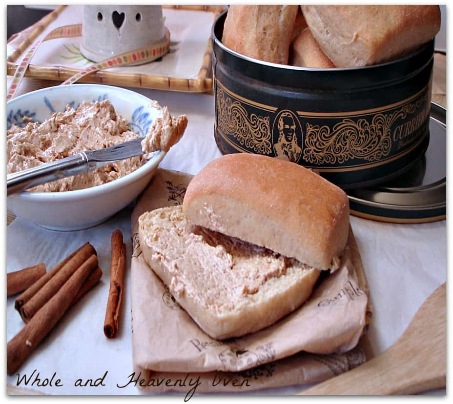 Yeast Dinner Rolls With Cinnamon Butter5