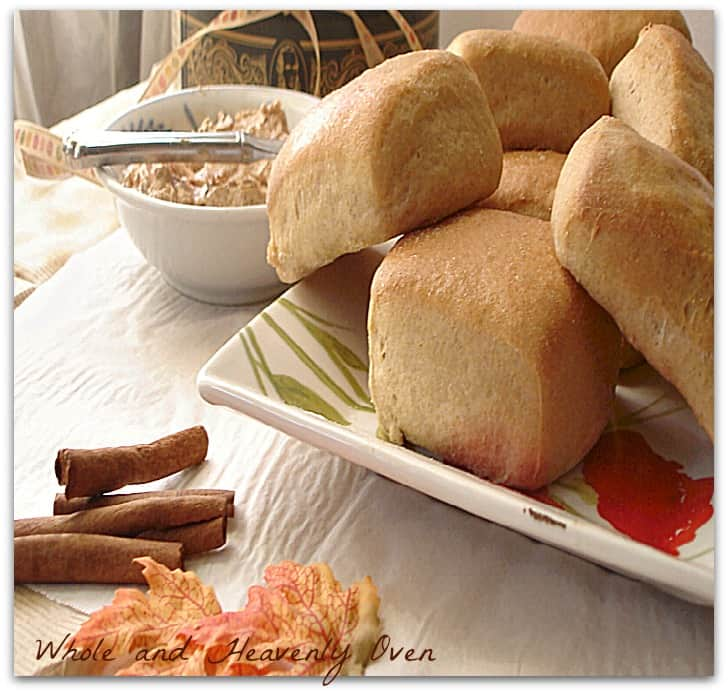 Yeast Dinner Rolls With Cinnamon Butter8