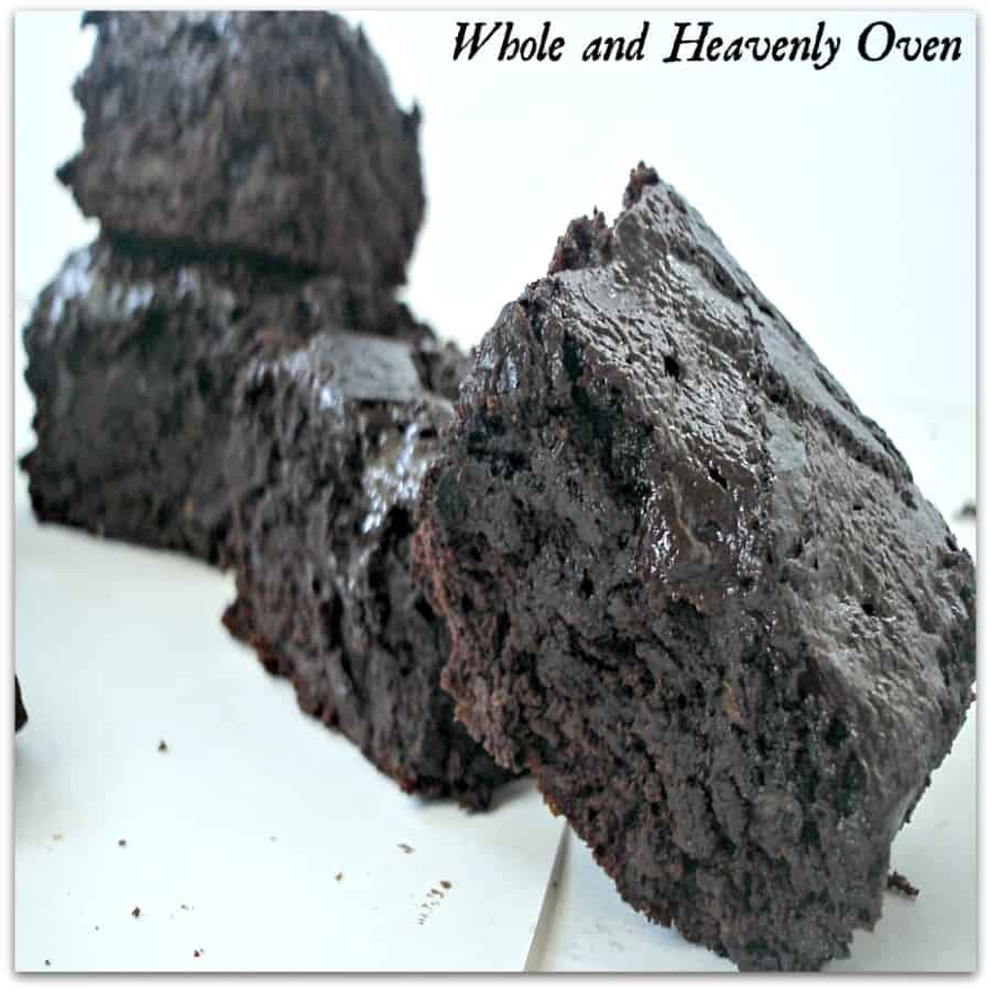 Zucchini Fudge Brownies