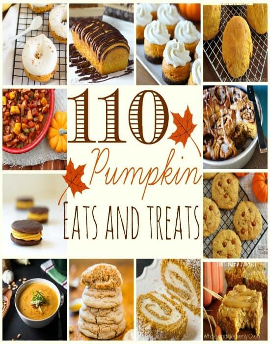 110 Pumpkin Eats And Treats