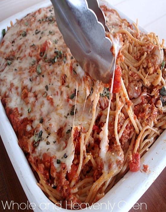 3-Cheese Beef Ziti