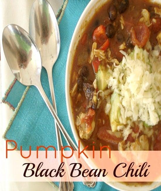Pumpkin Black Bean Chili