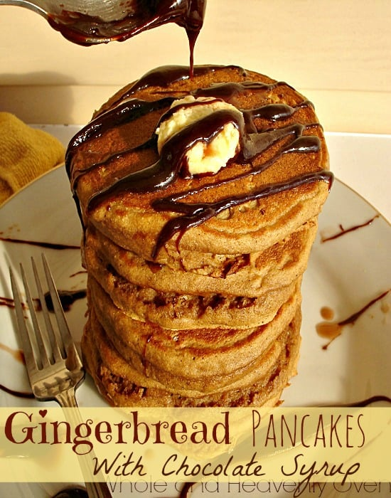 and fluffy pancakes taste exactly like sweet and spicy gingerbread ...