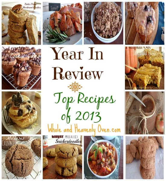Year In Review---Top Recipes of 2013