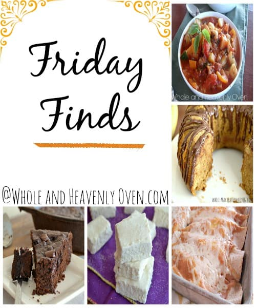 Friday Finds--- Recipes, DIY's, printables, and much more collected from all your favorite blogs!