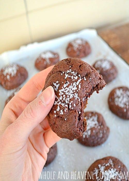Red Velvet Fudge Cookies