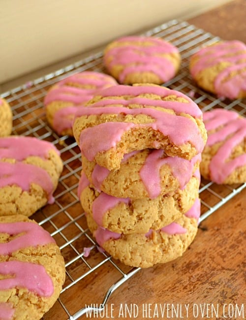 Soft-Baked Sugar Cookies { refined sugar-free)