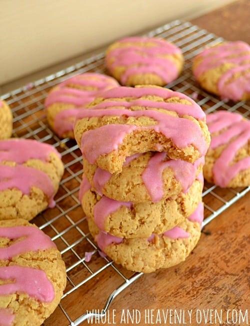 Soft-Baked Sugar Cookies { refined sugar-free)