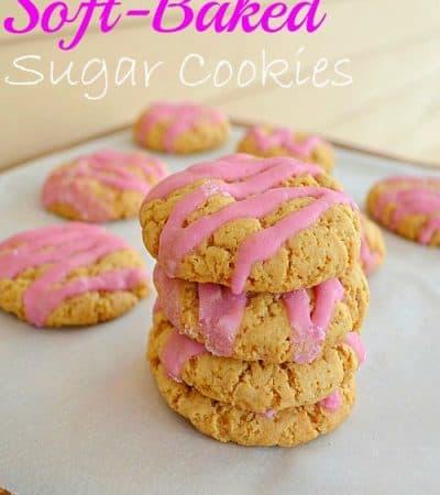 Soft-Baked Sugar Cookies {refined sugar-free}