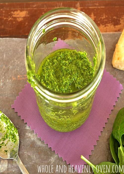 Spinach Basil Pesto