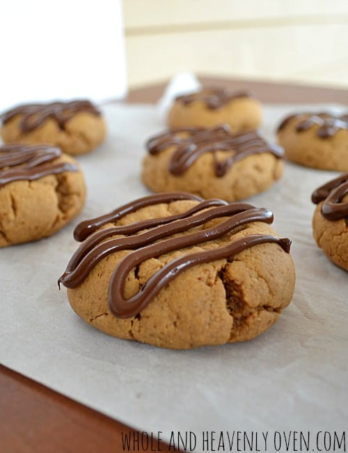 Classic Peanut Butter Cookies   wholeandheavenlyoven.com