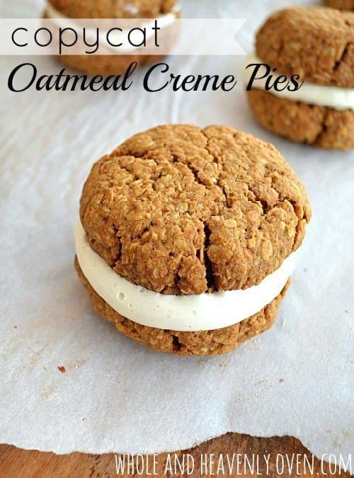 If you love store-bought Little Debbie oatmeal creme pies, you're ...