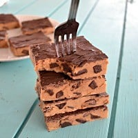 No-Bake Chocolate Chip Cookie Dough Bars