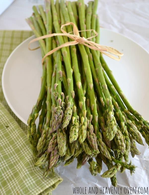 Asparagus | wholeandheavenlyoven.com