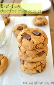 Best-Ever Chocolate Chunk Cookies | wholeandheavenlyoven.com