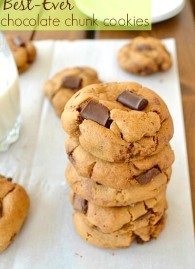 Best-Ever Chocolate Chunk Cookies   wholeandheavenlyoven.com