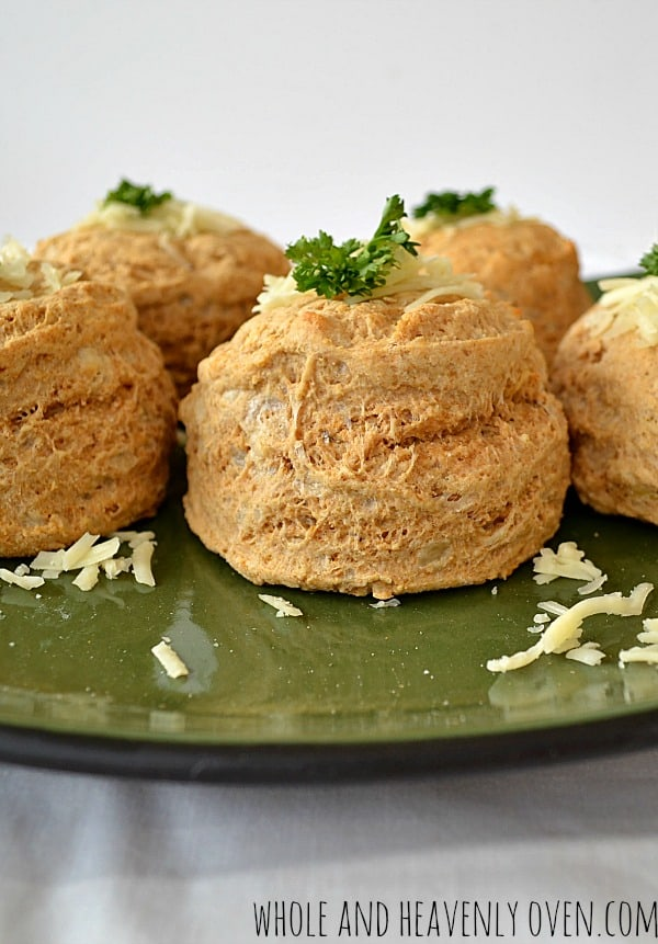 Roasted Garlic Cheddar Biscuits9
