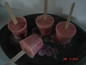 6 Pink Rhubarb Ice Pops Whole And Heavenly Oven