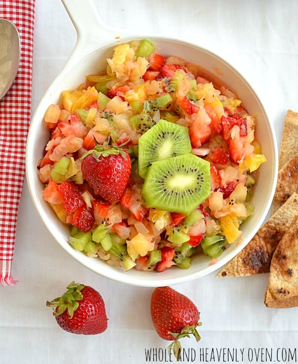 Summer Fruit Salsa With Cinnamon Chips4