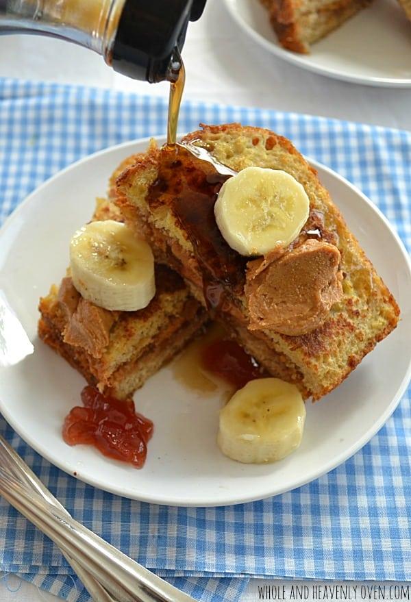 PBJ-Stuffed French Toast   wholeandheavenlyoven.com