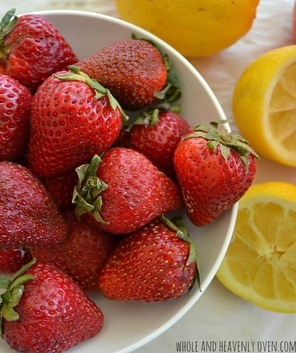 Pink Strawberry Lemonade   wholeandheavenlyoven.com
