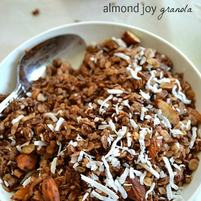 Almond Joy Granola10
