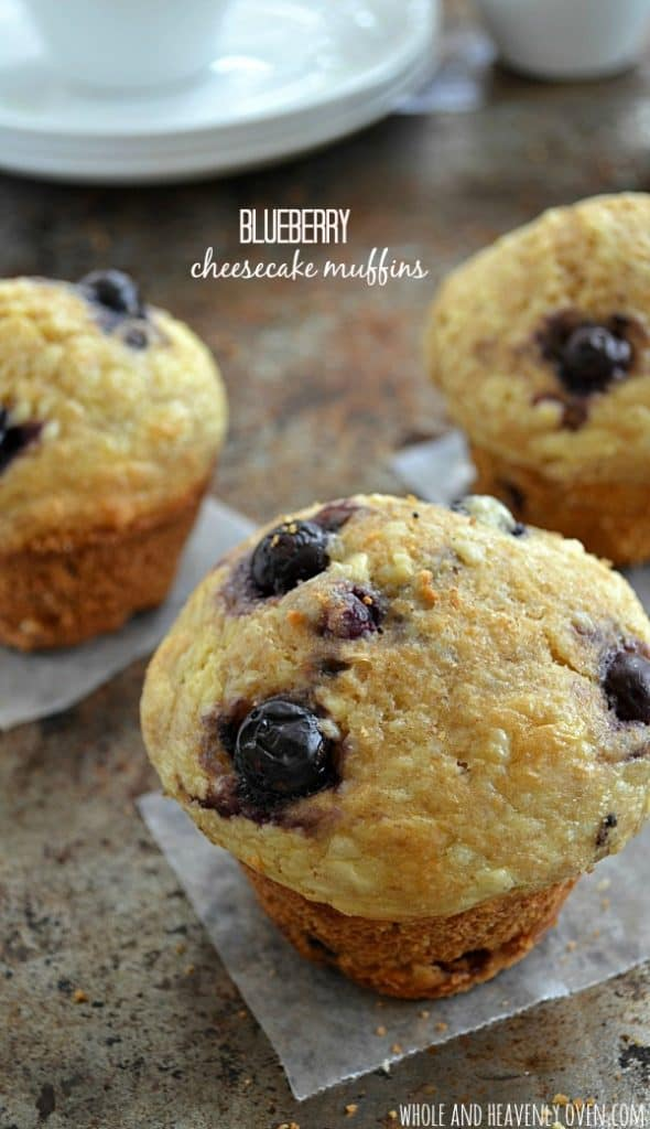 Blueberry Cheesecake Muffins8